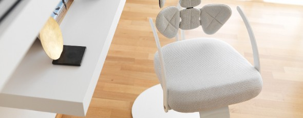 Tarta, lo schienale ergonomico by Tarta Design