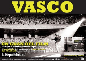 Un Gran Bel Film Live at Hammersmith Apollo; il nuovo video di Vasco Rossi