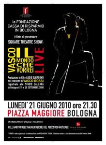 Square Theatre Show: Vasco Rossi – Il mondo che vorrei live